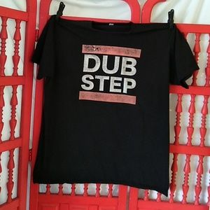 DUB STEP t shirt sz XL
